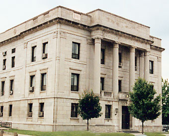 Image of the Hocking County Courthouse