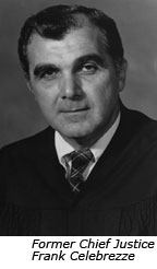 Former Chief Justice Frank Celebrezze