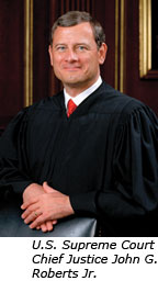 U.S. Supreme Court Chief Justice John G. Roberts Jr.