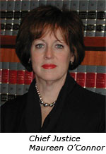 Supreme Court of Ohio Chief Justice Maureen O'Connor