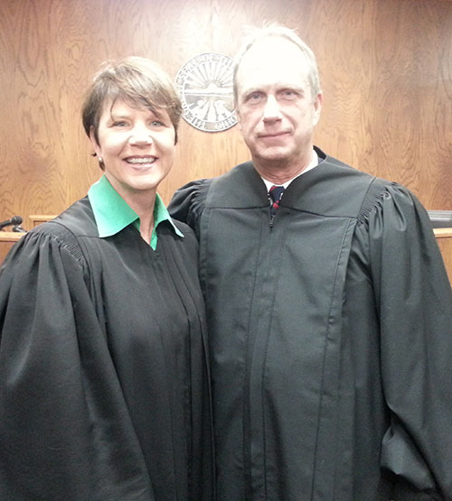 Image of Ohio Supreme Court Justice Sharon L. Kennedy and Judge William T. Goslee